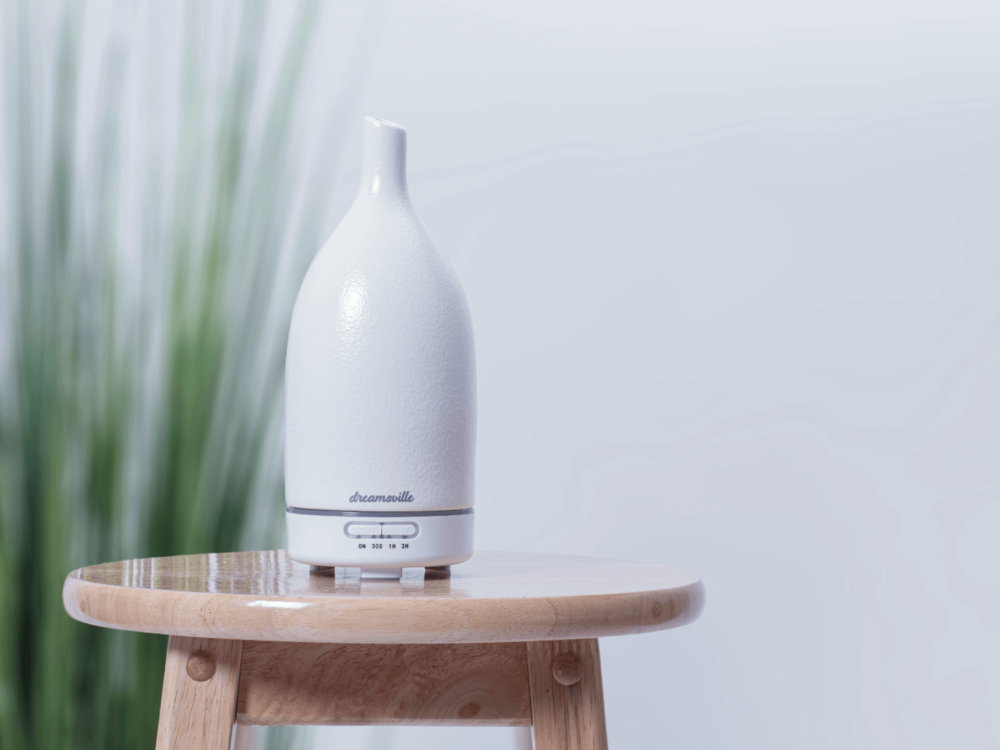 white ceramic diffuser