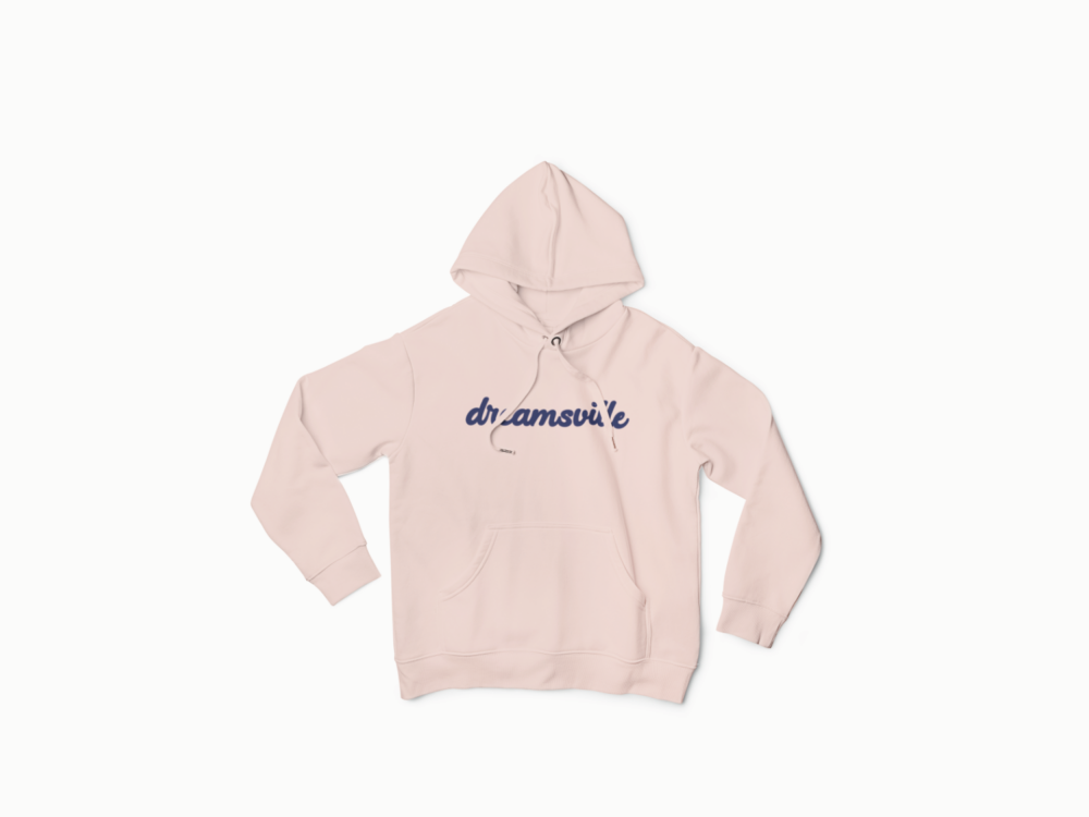 Womens Cotton Pink hoodie